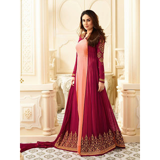 W Ethnic Women's Designer Faux Georgette Latest Anarkali Salwar Suit