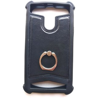Universal Black Color Vimkart mobile back cover case, guard, protector for 5 inch mobile AK