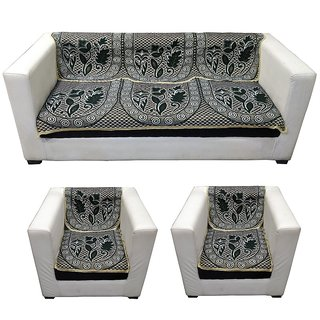 LooMantha 5 seater Cotton Sofa cover (Exclusive Design, Pack of 6)5.2