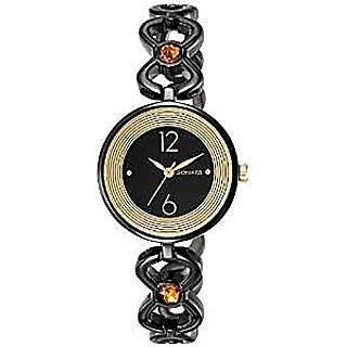 Sonata Quartz Red Dial Women Watch-8136NM01