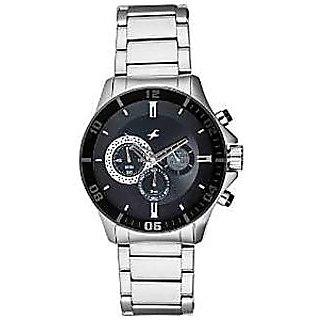 Fastrack Quartz Black Dial Mens Watch-3072sm02