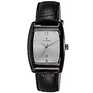 Titan Quartz White Dial Mens Watch-9171NL01
