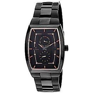 Titan Quartz Multi Dial Mens Watch-1625NM01