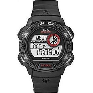 Timex Quartz Black Dial Mens Watch-T49977