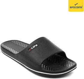 WeLcome EG-401 Black Slippers For Mens