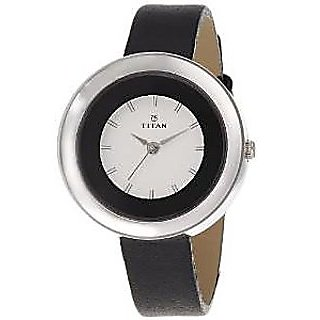 Titan Quartz White Dial Women Watch-2482SL02