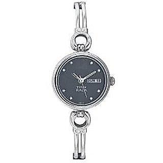 Titan Quartz Black Dial Women Watch-311SM04