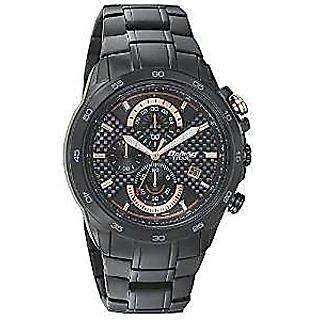 Titan Quartz Black Dial Mens Watch-90046NM01