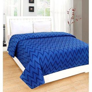 Yogini Single Bed Walmart AC Blanket Blue Color