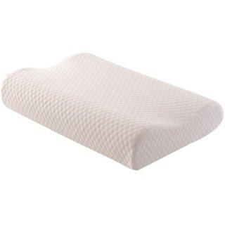 IMPORTIKAAH Contour Cervical Orthopaedic Memory Foam Pillow - 60x40 cm, White