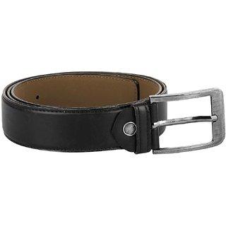 KEZRO Men's Premium PU Leather Classic Belt - Black