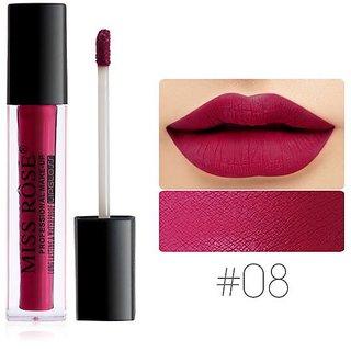 MISS ROSE matte lip gloss  long lasting matte liquid lipstick waterproof lipgloss