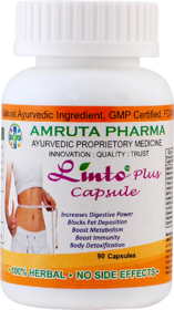 Linto Plus Herbal Fat Burner Capsules