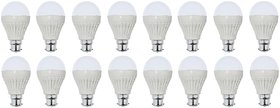 NIPSER 9 Watt LED Bulb (Pack of 16)- B Grade