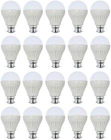 NIPSER 9 Watt LED Bulb (Pack of 20) - B Grade