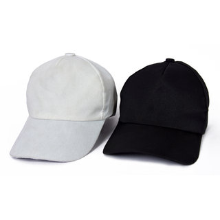 06e1b86dc99 Buy Black and White Casual Regular Caps (Set of 2) Online - Get 86% Off