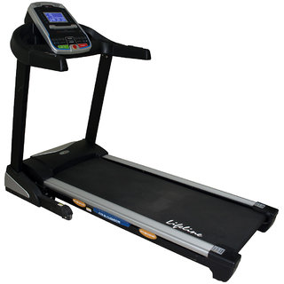 Lifeline Motorized Treadmill (3.0 HP DC) 3000  Bonus Weighing machine