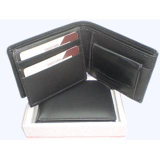 100 original leather Genuine Pdm Leather Gents Wallet BL307