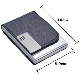 Mr. Rock RFID ATM/Visiting/Credit Card Holder,PAN/Business Card Case Holder,ID Card Holder,Money Holder, FOR MEN WOMEN