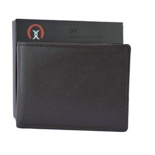 OX Men Black Leather Wallet