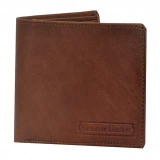 PYFashion Mans Wallet Tan color  With Pure leather
