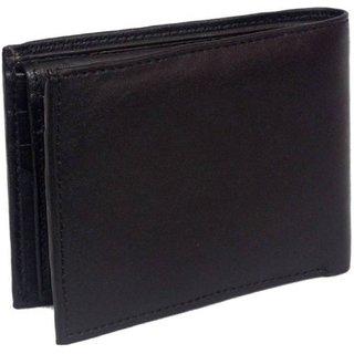 Shopcraze Best Selling Black Wallet (Synthetic leather/Rexine)