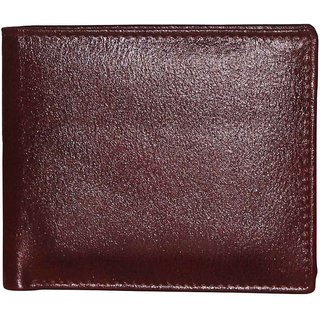Tamanna Men Brown Genuine Leather Wallet  6 Card Slots  Wallets