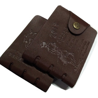 angel home pack of 2 stylish wallet ( brown)