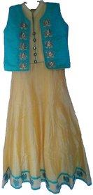Anarkali Party wear Gown with jaket
