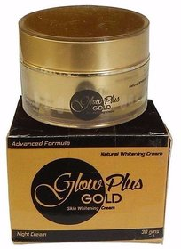 Glow Plus Gold Skin Whitening Cream 30g (Pack Of 1)