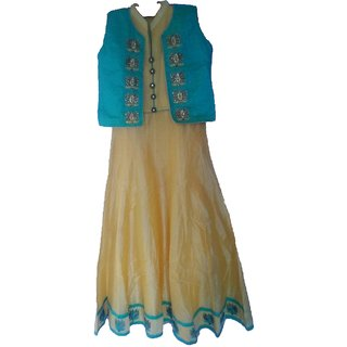 Anarkali Party wear Gown with jaket