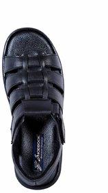 Shoebook Men's Stylish Black Casual Sandal Black Sandal - 139238616