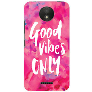 Printgasm Motorola Moto C printed back hard cover/case,  Matte finish, premium 3D printed, designer case