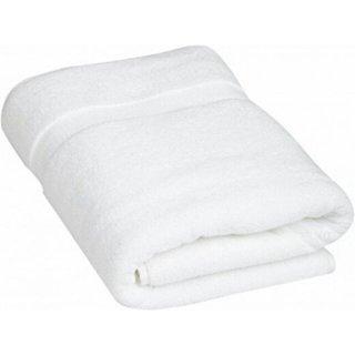 Terry Cotton White bath towel