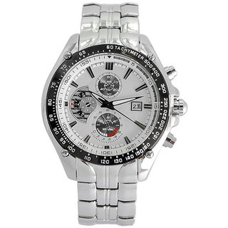 Qlonz store Curren Luxury Brand Men Full Steel Business Wrist watches Casual Calendar Watch Quartz Watch - For Men  Wom