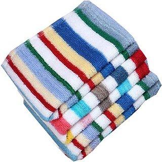 Terry Cotton Bath Towel Set Of 2 (Assorted Design)