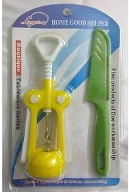 Trendz Cork bottle opener + Knife