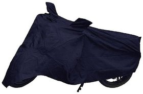 Blue bike cover for hero bike