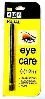 ADS Eye Care Long Lasting Waterproof Extra Black Kajal 12Hr