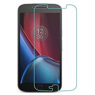 ATULAY DEALS Buy 1 Get  Free Tempered Glass Screen Protector For Moto G4 Plus