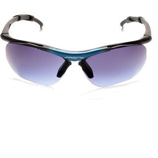 Davidson Blue Rectangle Sunglasses ( DN-015-SPORTBLU-WFR )