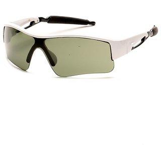 Davidson Green UV Protected Aviator Unisex Sunglasses ( DN-017-GRENSPORT-WFR )
