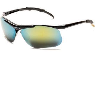 Davidson Yellow Rectangle Sunglasses ( DN-019-MURCRYSPORT-WFR )