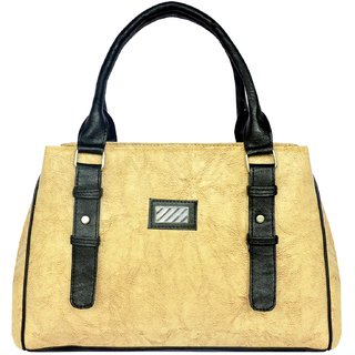 WOMEN'S HAND BAG BY ALL DAY 365(TAN)(HBD28)