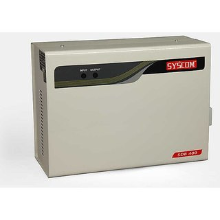 SYSCOM 4 KVA DOUBLE BOOSTER STABILIZER FOR 1.5 TON AIR CONDITIONER