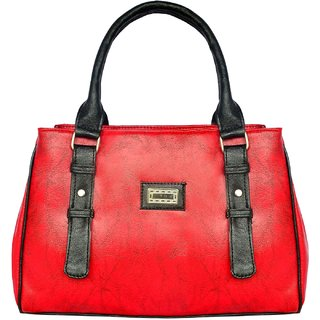 GIRL'S HAND BAG BY ALL DAY 365(HBD30)(RED)