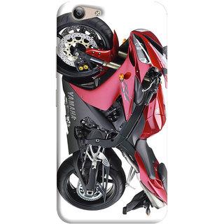 FurnishFantasy Back Cover for Vivo Y53 - Design ID - 0863