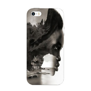 Printgasm iPhone SE printed back hard cover/case,  Matte finish, premium 3D printed, designer case