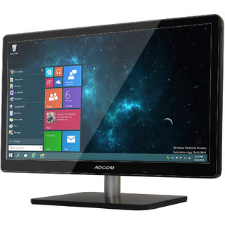 Adcom 47 cm (18 5 inch) AD1902 LED Monitor with HDMI Power Saving (Black)