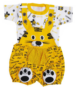 RSP New Stylish Dress for(6-12) Baby Boys  Girls (YELLOW
